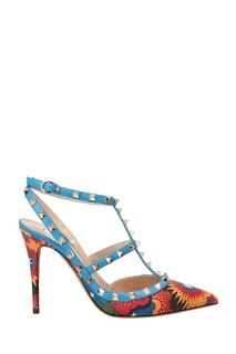 Туфли с комбинированной отделкой Valentino