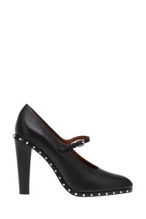 Кожаные туфли с заклепками Valentino