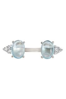 Серебряное кольцо с топазами Moonka Studio