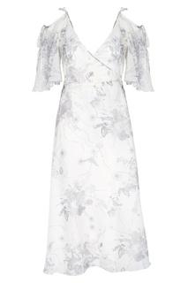 Платье с запахом Laroom