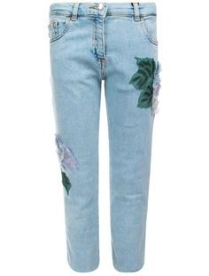 Декорированные джинсы Dolce&Gabbana Children