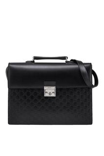 Кожаный портфель Gucci