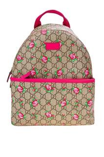 Рюкзак с принтом Gucci Children