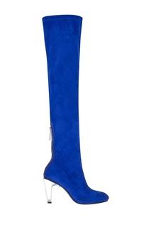Велюровые ботфорты Icon Tall Boot Hi United Nude