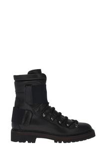 Черные ботинки на шнуровке Brigitte Moncler