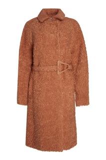Пальто из шерсти и мохера Carven