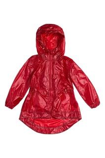 Красный дождевик с кулисками LU Kids