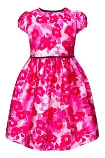 Платье с ярким принтом Oscar de la Renta Children