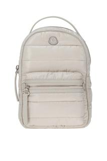 Стеганый рюкзак бежевый New Georgette Moncler