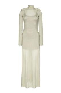 Трикотажное платье-макси Esve