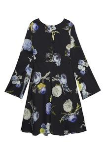 Платье с розами Acne Studios