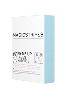 Коллагеновые охлаждающие патчи под глаза Wake Me Up Collagen Eye Patches, 5 пар Magicstripes