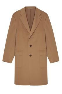 Пальто из шерсти и кашемира Canali