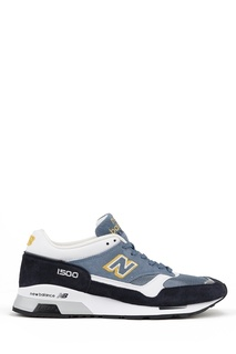 Замшевые кроссовки с контрастными деталями №1500 New Balance