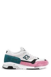 Кроссовки из замши и кожи №1500 New Balance