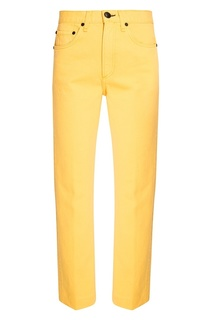 Желтые джинсы Rag&;Bone