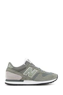 Зеленые замшевые кроссовки №770 New Balance