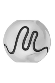 Серебряный шарм Letter M U Jewels