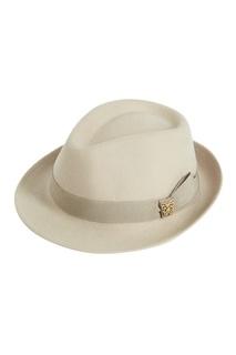 Бежевая фетровая шляпа Lauren Age of Innocence