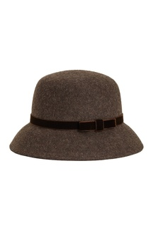 Коричневая фетровая шляпа Julie Age of Innocence
