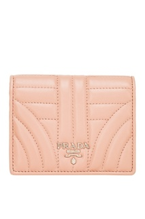 Складной кошелек с логотипом Prada