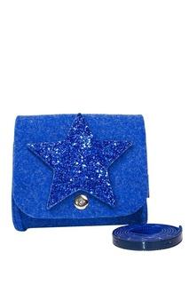 Синяя сумка со звездой Roro