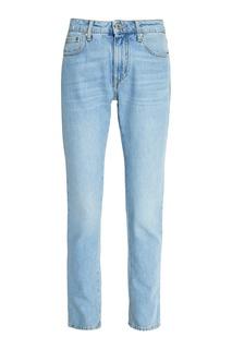 Прямые голубые джинсы Msgm