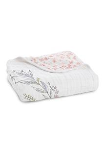 Двустороннее одеяло из белого хлопка Aden+Anais