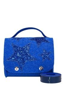 Синяя сумка со звездами Roro