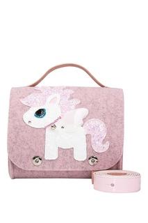 Светло-розовая сумка с пони Roro
