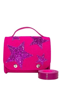 Розовая сумка со звездами Roro