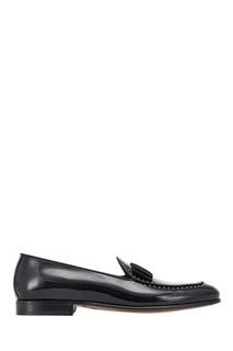 Черные лакированные лоферы Dolce&;Gabbana