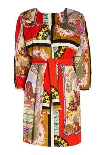Платье с ярким принтом Etro