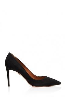 Черные туфли из замши Simply Irresistible Pump 85 Aquazzura