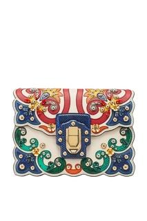 Сумка с аппликациями Lucia Dolce&;Gabbana