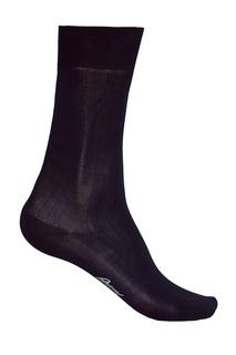 Черные носки из хлопка Brioni