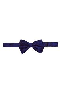 Синий галстук-бабочка Billionaire