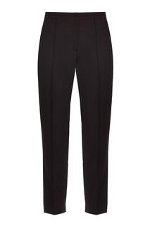 Черные шерстяные брюки Nina Ricci