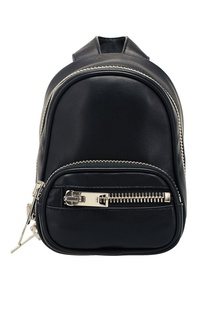 Черный кожаный мини-рюкзак Alexander Wang