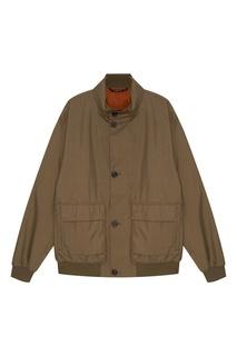Хлопковая куртка с карманами Z Zegna