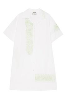 Платье-рубашка с принтом Jusso Acne Studios