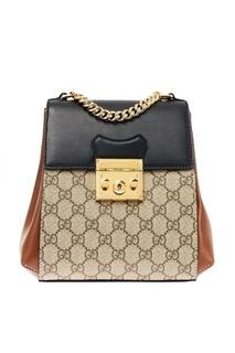 Комбинированный рюкзак Padlock Gucci