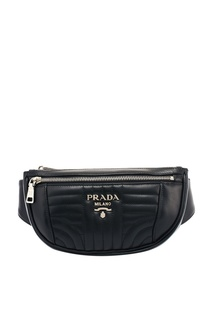Поясная сумка из стеганой кожи Prada
