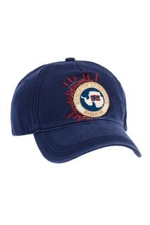 Синяя хлопковая кепка с эмблемой Napapijri