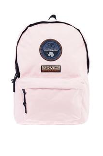 Светло-розовый текстильный рюкзак Napapijri
