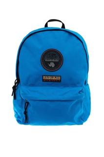 Синий текстильный рюкзак с логотипом Napapijri