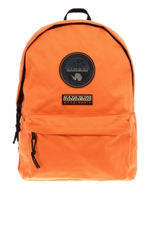 Оранжевый текстильный рюкзак с логотипом Napapijri