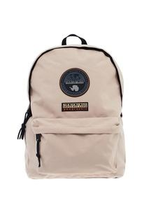 Бежевый текстильный рюкзак Napapijri