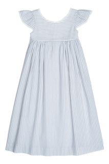Хлопковое платье в полоску GALANTE2 Bonpoint