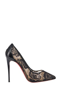 Кружевные туфли Follies Lace 100 Christian Louboutin